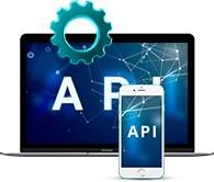 Industry leading API